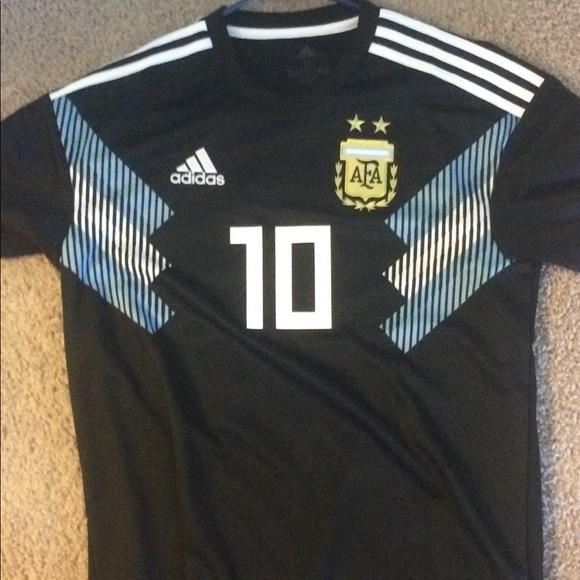 45cb9f499cf adidas Shirts | Russia World Cup 2018 Argentina Away Jersey | Poshmark